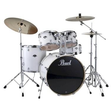 Pearl Export 5-Piece Drum Kit - White (DRSEXX725SC33)