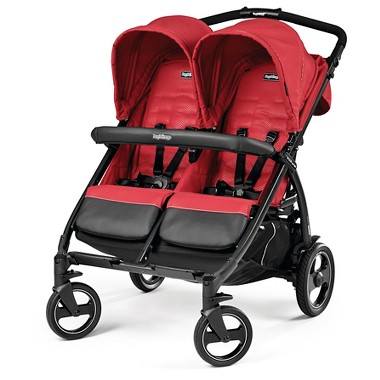 Peg Perego Book For Two Stroller (Mod Red)