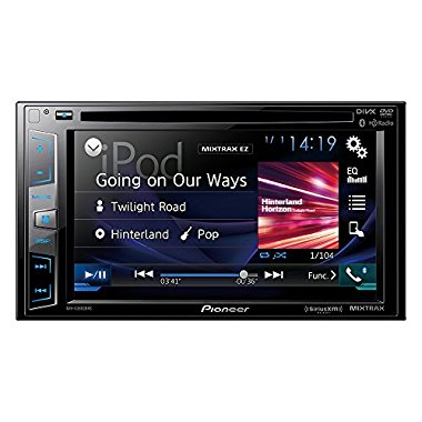 "Pioneer AVH-X3800BHS 2-Din 6.2"" DVD/CD/MP3 Receiver"
