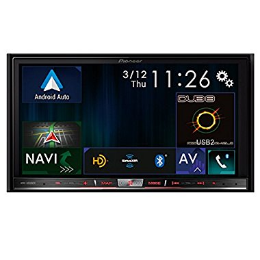 "Pioneer AVIC-8200NEX Flagship In-Dash Double-Din DVD CD Navigation Receiver with 7"" Touchscreen"