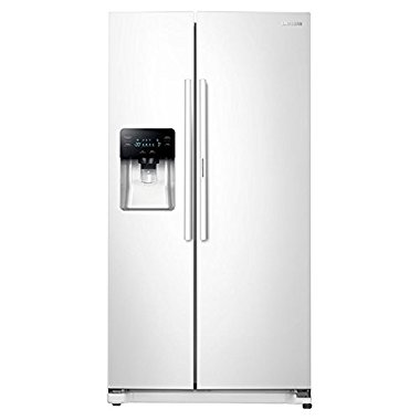 Samsung RH25H5611WW ShowCase 24.7 cu. ft. Side-By-Side Refrigerator (White)