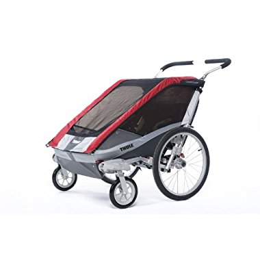 Thule Chariot Cougar 2 Stroller (Red)