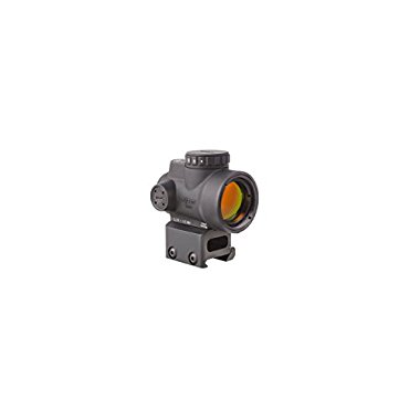 Trijicon MRO 2.0 MOA 1 x 25mm Adjustable Red Dot Sight with AC32068 Full Co-Witness Mount Adaptor (MRO-C-2200005)