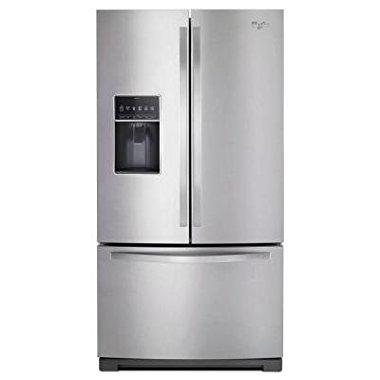 Whirlpool WRF757SDEM 27 cu. ft. French Door Refrigerator (Monochromatic Stainless Steel)