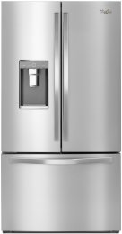 Whirlpool WRF992FIFM 36 32 cu. ft. French Door Refrigerator with Infinity Slide Shelf (Monochrome Stainless Steel)
