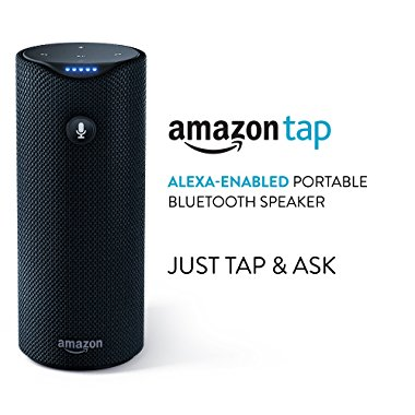 Amazon Tap, Alexa-Enabled Portable Bluetooth Speaker