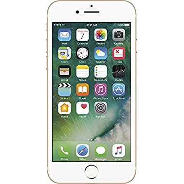 Apple iPhone 7 Unlocked Phone 128 GB - US Version (Gold)
