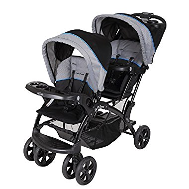 Baby Trend Double Sit N Stand Stroller, Millennium Blue