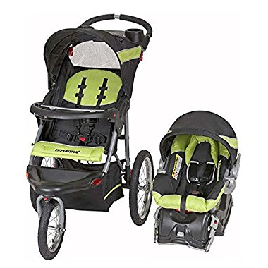 Baby Trend Expedition Travel System with Stroller and Car Seat, Electric Lime