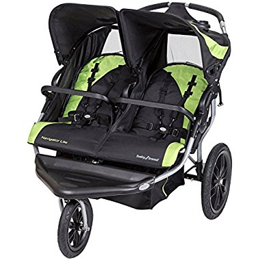 Baby Trend Navigator Lite Double Jogger Stroller, Lincoln