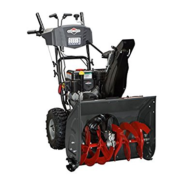 Briggs & Stratton 24 Medium-Duty Dual-Stage Snow Thrower with 208cc Engine and Electric Start (1696614)