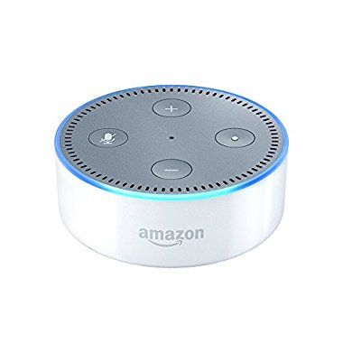 Echo Dot 2nd Generation Bluetooth Alexa Device (White)