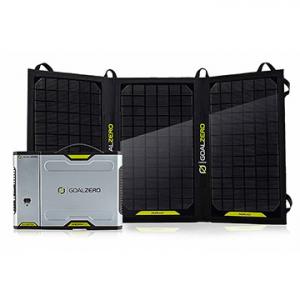 Goal Zero Sherpa 100 Solar Recharging Kit with Nomad 20, Inverter (42011)