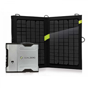 Goal Zero Sherpa 50 Solar Recharging Kit with Nomad 13 Panel, Inverter (42005)