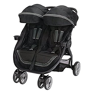 Graco Fastaction Fold Duo Click Connect Stroller, Pierce 2015