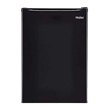 Haier 2.7 Cubic Feet Energy Star Compact Refrigerator, Black | HRC2731ACB