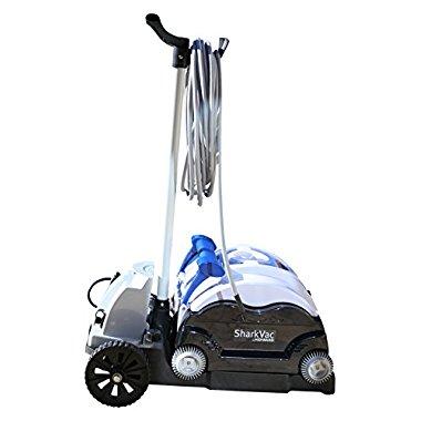Hayward RC9742CUBY SharkVac Caddy Cart Robotic Pool Cleaner, Blue/Black/Grey