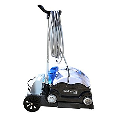 Hayward SharkVac XL Automatic Robotic Pool Cleaner with Caddy Cart (RC9742WCCUBY)