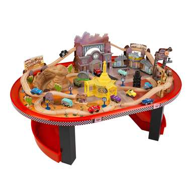 Kidkraft Disney Cars Radiator Springs Race Track Set And