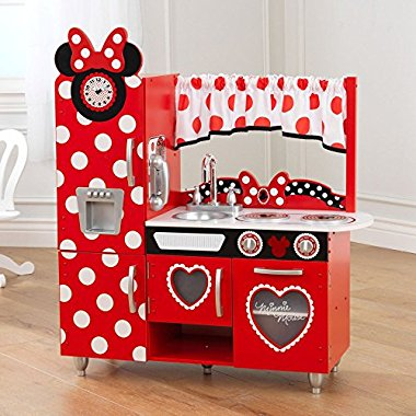 KidKraft Disney Jr. Minnie Mouse Vintage Kitchen Set