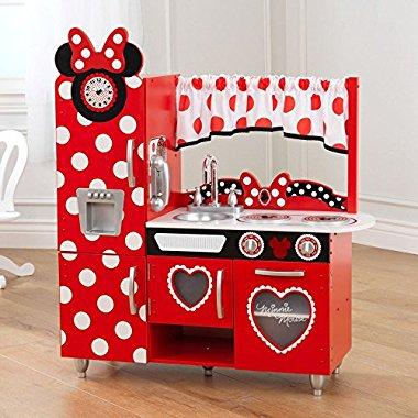 KidKraft Disney Jr. Minnie Mouse Vintage Kitchen Set