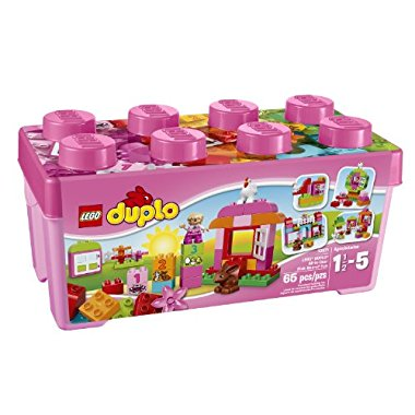 LEGO DUPLO All-in-One-Pink-Box-of-Fun (10571)