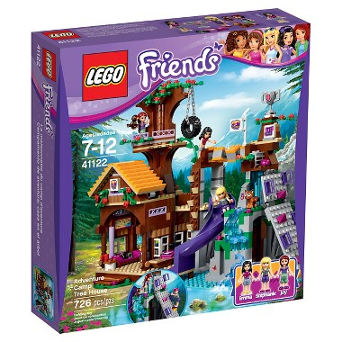 Lego Friends Adventure Camp Tree House (41122)