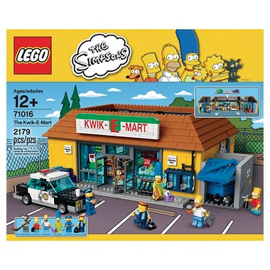 Lego Simpsons The Kwik-E-Mart 71016