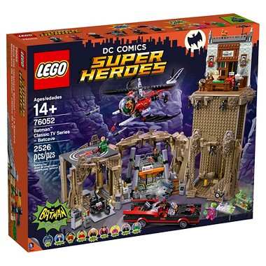 Lego Super Heroes Batman Classic TV Series - Batcave 76052