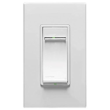 Leviton VRE06-1LZ Vizia RF+ Z-Wave Dimmer Switch for Electronic Low Voltage (ELV) Scene Capable Lighting