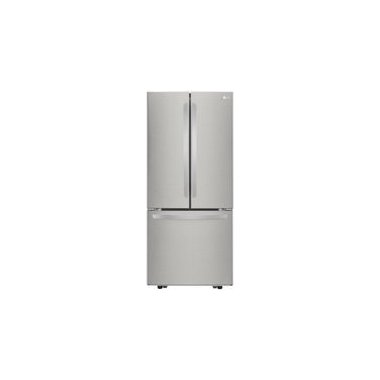 "LG LFCS22520S 30"" 21.8 cu. ft. French Door Refrigerator"
