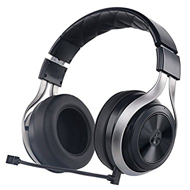 LucidSound LS30 Wireless Universal Gaming Headset (Black) - PS4, Xbox One, PS3, Xbox 360, & Mobile Devices