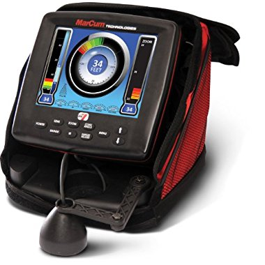 Marcum LX-7 Ice Fishing Sonar System with Color LCD Fishfinder