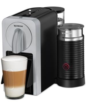 Nespresso Prodigio With Milk Espresso Maker, Silver (D75-US-SI-NE)
