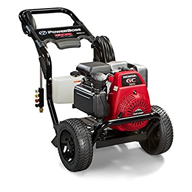 PowerBOSS 3100 PSI 2.7 GPM Pressure Washer with 190cc Honda GC190 Engine (20649)