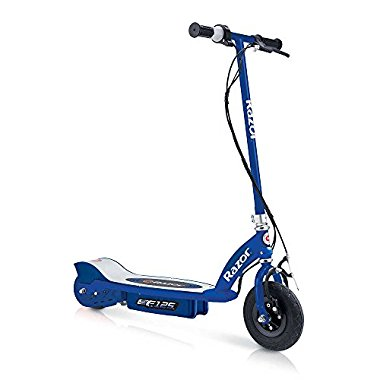 Razor E125 Motorized 24-Volt Rechargeable Electric Scooter, Navy | 13111141