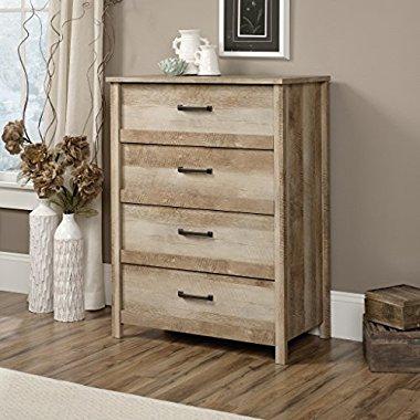 Sauder Cannery Bridge Lintel Oak Country 4-Drawer Dresser Chest (416859)