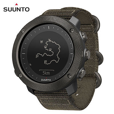 Suunto Traverse Alpha GPS Watch, Foliage (SS022292000)