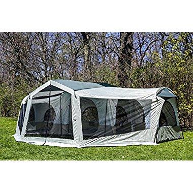 Tahoe Gear Carson 3-Season 14 Person Large Family Cabin Tent | TGT-CARSON-18