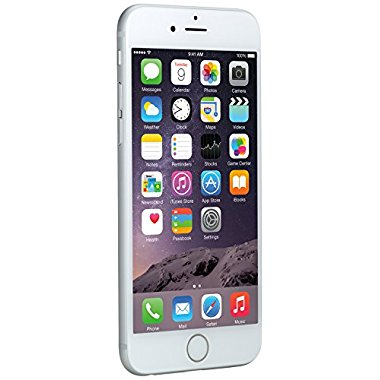 Apple iPhone 6 Unlocked Smartphone (16GB, Silver)