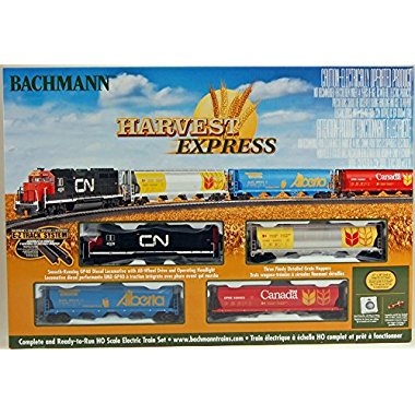 Bachmann Trains Harvest Express Ready To Run Electric Train Set
