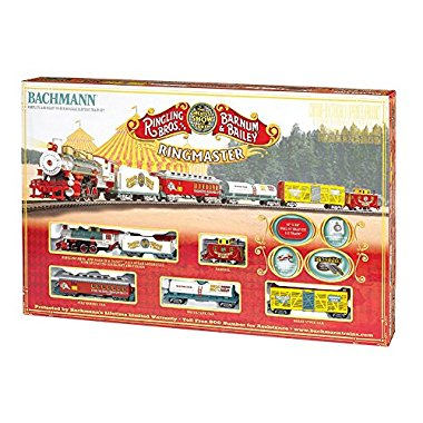 Bachmann Trains Ringling Bros. and Barnum & Bailey Ringmaster Train Set | 714-BT