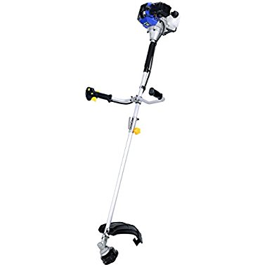 Blue Max 52623 Extreme Duty 2-Cycle Dual Line Trimmer and Brush Cutter, 42.6cc