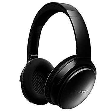 Bose QuietComfort 35 Wireless Noise Cancelling Headphones (Black)