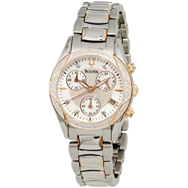 Bulova Women's 98R149 Anabar Stainless Steel Watch