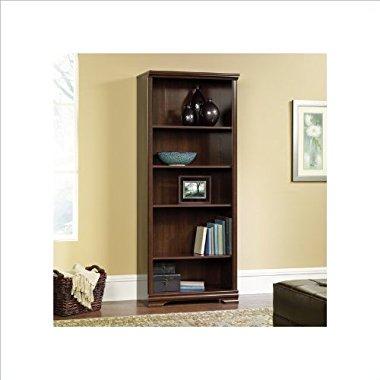Carolina Estate 5-Shelf Bookcase