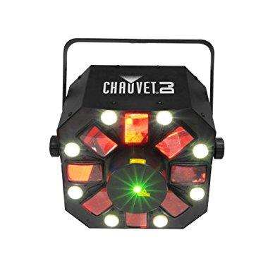 Chauvet DJ Swarm 5 FX 3-In-1 RGBAW Rotating LED Derby