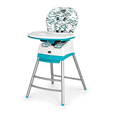 Chicco Stack Highchair, Aqua