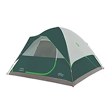 Coleman Maumee 8 Person Traditional Dome Camping Tent with Carry Bag