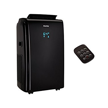 Danby 12000 BTU 3-in-1 Portable Air Conditioner with Remote, Black | DPA120E1BDB